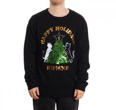 RIPNDIP Litmas Tree Knitted Sweater Black