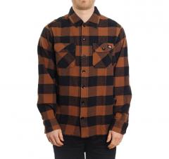 Dickies New Sacramento Shirt Brown Duck