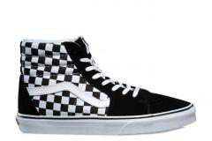 Vans SK8-HI (Checkerboard) Black / True White