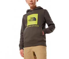 The North Face Youth Box Hoodie New Taupe Green / Multicolor
