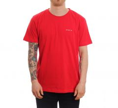 Makia Trim Tee Red