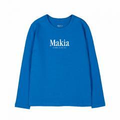 Makia Kids Strait Long Sleeve French Blue