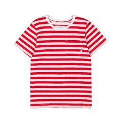 Makia Kids Verkstad T-Shirt Red / White