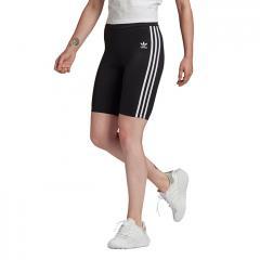 Adidas Originals Womens Adicolor High-Waisted Primeblue Short Tights Black