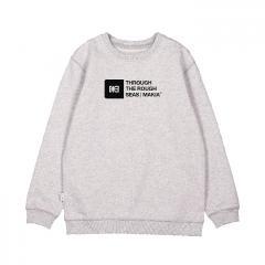 Makia Kids Flint Sweatshirt Light Grey