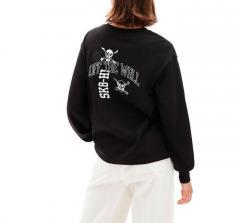 Vans Womens Varsity Long Sleeve T-Shirt Black