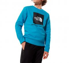 The North Face Youth Box Crew Meridian Blue
