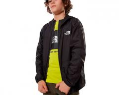 The North Face Youth Lobuche Wind Jacket TNF Black