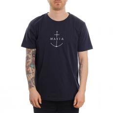 Makia Ankra T-Shirt Dark Blue