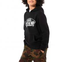 Vans Youth OTW Pullover Hoodie Black / White Outline