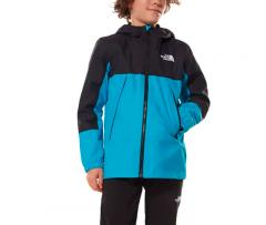 The North Face Youth Lobuche Dryvent Jacket Meridian Blue / TNF Black