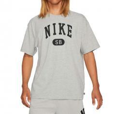 Nike SB Collegiate T-Shirt Dark Grey Heather / Black