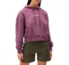 Dickies Womens Loretto Boxy Hoodie Purple Gumdrop