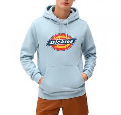 Dickies Icon Logo Hoodie Fog Blue