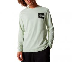 The North Face Fine Longsleeve T-Shirt Green Mist
