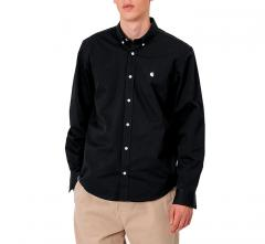 Carhartt WIP L/S Madison Shirt Black / Wax