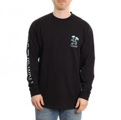 Vans In The Weeds Longsleeve T-Shirt Black