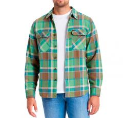 Brixton Bowery Long Sleeve Flannel Toffee