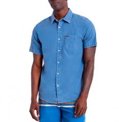 Brixton Charter Oxford S/S Shirt Joe Blue Sun Wash