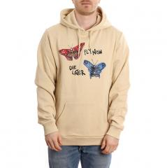 Brixton Fly Now Hoodie Gravel