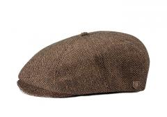 Brixton Brood Snap Cap Brown / Khaki