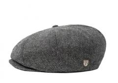 Brixton Brood Snap Cap Grey / Black