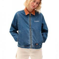 Dickies Womens Halma Eisenhower Jacket Classic Blue