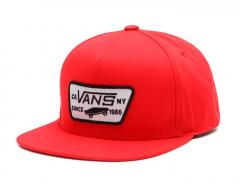 Vans Youth Full Patch Snapback High Risk Red