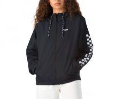 Vans Womens Kastle Classic Windbreaker Jacket Black