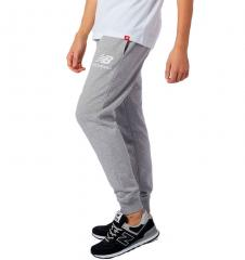 New Balance Essential Stack Logo Slim Sweatpant Athletic Grey