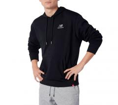 New Balance Essentials Embroidered Hoodie Black