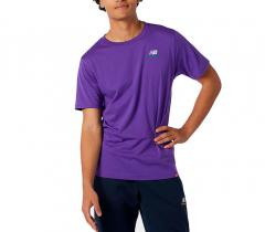 New Balance Essentials Embroidered T-Shirt Prism Purple
