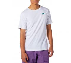 New Balance Essentials Embroidered T-Shirt White
