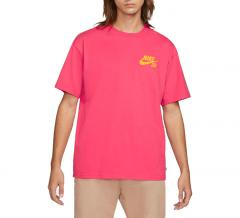 Nike SB Logo T-Shirt LT Fusion Red / University Gold