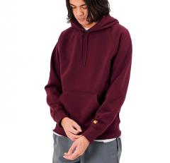 Carhartt WIP Hooded Chase Sweatshirt Shiraz / Gold