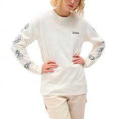 Dickies Womens Harmony Longsleeve T-Shirt Ecru