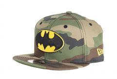 New Era 9Fifty Youth Batman Snapback Camo