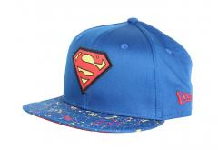 New Era 9Fifty Youth Superman Paint Splat Snapback Blue