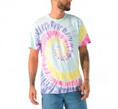 Vans Drop V Spiral Tie Dye T-Shirt Rainbow