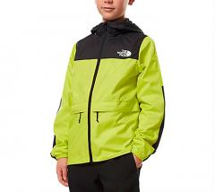 The North Face Youth Lobuche Wind Jacket Sulphur Spring Green
