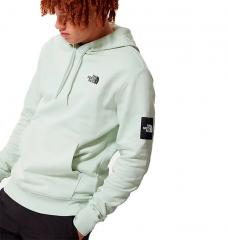 The North Face Black Box Hoodie Green Mist