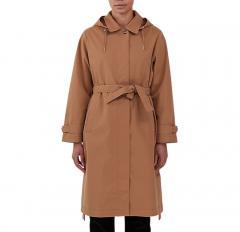 Makia Womens Kaisla Trench Coat Camel