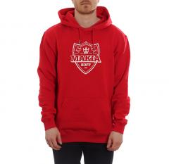 Makia X KOFF Shield Hooded Sweatshirt Red