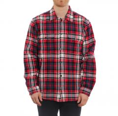 Makia X KOFF Labour Overshirt Red