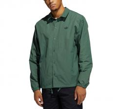 Adidas Originals Coach Shirt Green Oxide / Black