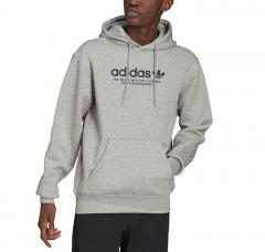 Adidas Originals 4.0 Logo Hoodie Medium Grey Heather