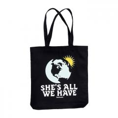 Dedicated All We Have Tote Bag Black