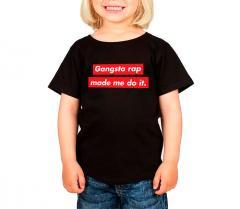 Dedicated Kids Lillehammer Gangsta Rap T-Shirt Black
