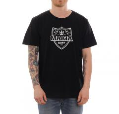 Makia X KOFF Shield T-Shirt Black