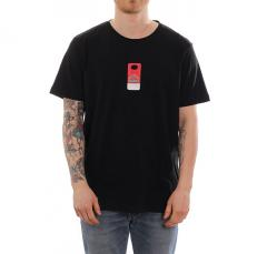 Makia X KOFF Check T-Shirt Black
